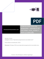 CU00610B Configurar Java Jdk Windows Variables Entorno Java_home y Path
