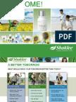 Shaklee Opportunity Presentation