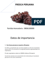 Uva Fresca Peruana