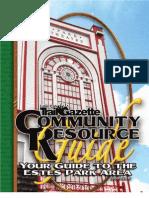 Estes Park Community Resource Guide 2009