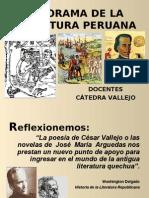 Panorama de La Literatura Peruana