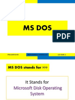 MS DOS BY ME