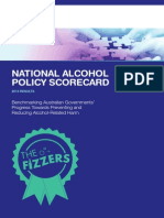 Alcohol Policy Scorecard 2013