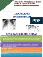 Densidades Radiologicas =d