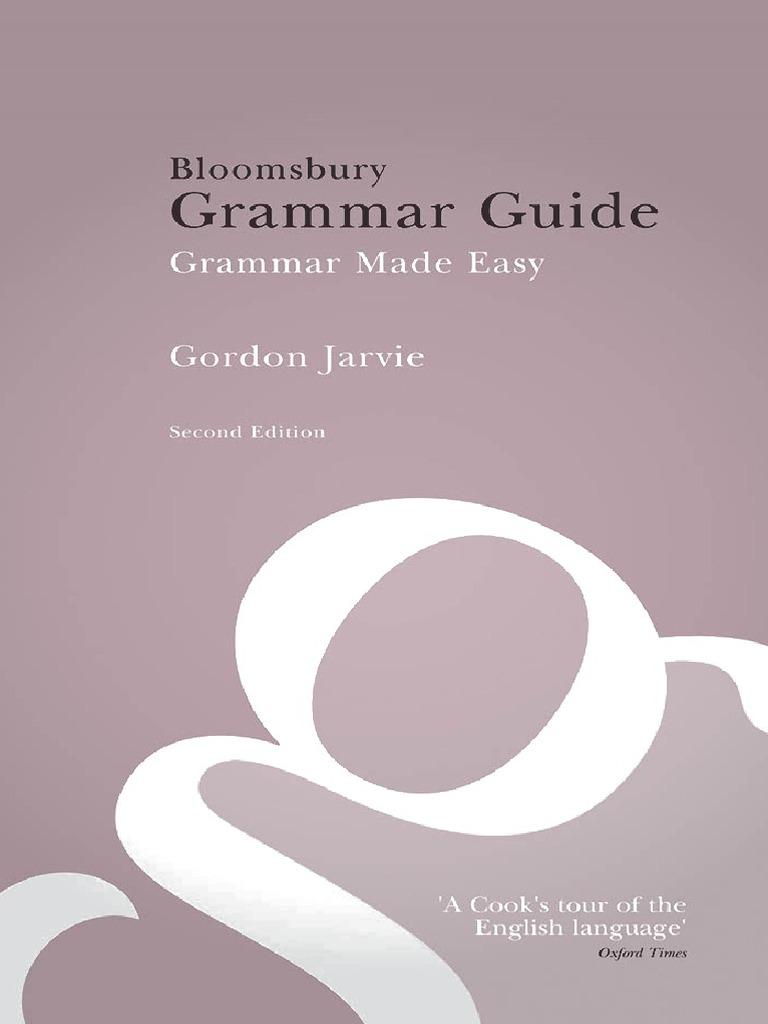 Bloomsbury grammar guide second edition adjective pronoun fandeluxe Choice Image