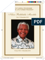The official funeral of Nelson Mandela in Qunu