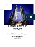 federalsystemofgovernmentinmalaysia-