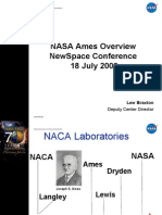 Ames Overview NewSpace