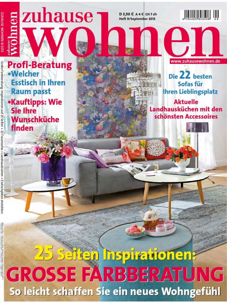 Zuhause Wohnen September 09-2013
