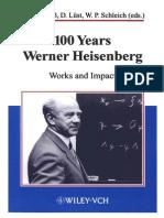 12a-100 Years Werner Heisenberg