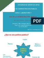 3.- Politicas Publicas