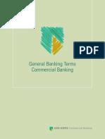 Algemene Voorwaarden Commercial Banking En
