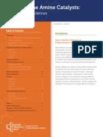 Polyurethane Amine Catalysts