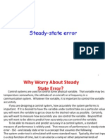 Steady State Error1 1