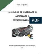 Tehnologii de Fabricare Si Asamblare a Autovehiculelor