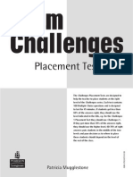 Challenges Placement Test