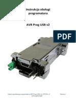 AVR Programator Stk500 Datasheet