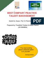 8)Talent Management Best Practices