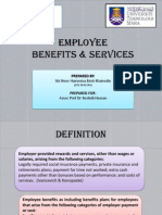 12)Employee Benefits & Services