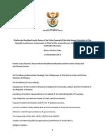 Zuma's Madiba Funeral Speech