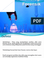 Toksikologi Forensik ppt