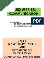 Unit 5_ep602_wave Propagation & Interference