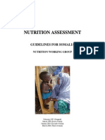 Nutrition Survey Guidelines for Somalia - Revised March 2006