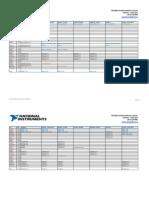 CALENDAR 2014 - Training and Certification (JAN-JUN 2014) - Customer