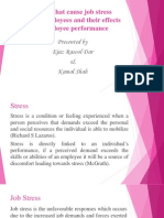 Job Stress Presentation