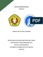 Status Bangsal SARAF
