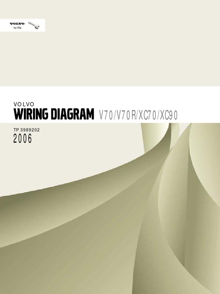 Volvo Xc70 2006 Wiring Diag Airbag Throttle Bwd Voltage Regulator Diagram