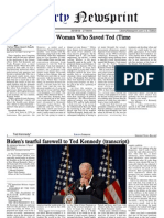 Libertynewsprint Ted Kennedy Special Edition 8-27-09