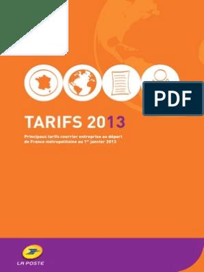 142777 Tarifs 2013 Metropole Semi Interactif V2 1 Pdf