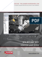 SolidCAM2011 HSM HSR Machining User Guide WEB