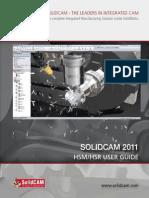 SolidCAM2011 HSM HSR Machining User Guide WEB