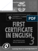 FCE Cambridge Practice Tests
