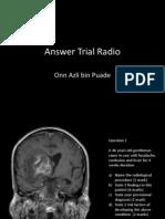 Answer Trial Radio