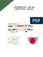 Microbiology Lab Book