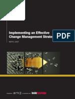 Change Management Chap