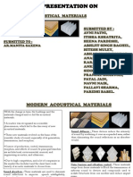 Acoustical Material