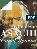 Asachi Gheorghe - Cantul Cignului (Cartea)