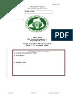 Standared Bid Document 02-06-2010