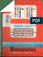 Cls 3 Manual Matematica 1987