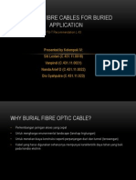Kelompok IV-optical Fibre Cables for Buried Application