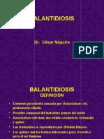 Balantidiosis