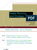 Media Palnning and Strategy