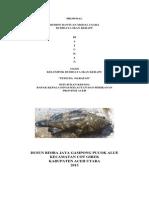 Proposal Ikan Kerapu