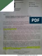 Raspuns MAI-Directia Generala Financiara cu privire la HG 0292/2011 si OMAI S/214/2011