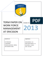 Work Force Management Workforce Management