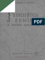 Principatele Romane La Inceputul Secolului XIX